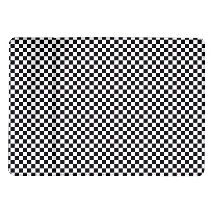 Sports Racing Chess Squares Black White Samsung Galaxy Tab 10.1  P7500 Flip Case