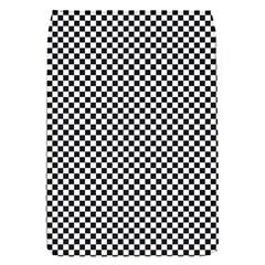 Sports Racing Chess Squares Black White Flap Covers (S)