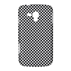 Sports Racing Chess Squares Black White Samsung Galaxy Duos I8262 Hardshell Case