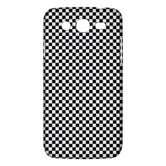 Sports Racing Chess Squares Black White Samsung Galaxy Mega 5.8 I9152 Hardshell Case