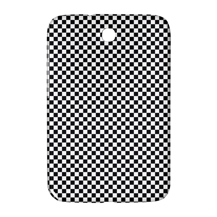 Sports Racing Chess Squares Black White Samsung Galaxy Note 8.0 N5100 Hardshell Case