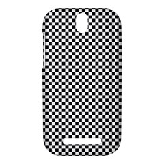 Sports Racing Chess Squares Black White HTC One SV Hardshell Case