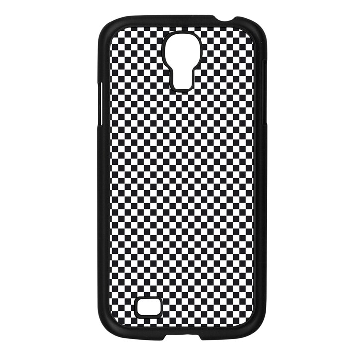 Sports Racing Chess Squares Black White Samsung Galaxy S4 I9500/ I9505 Case (Black)