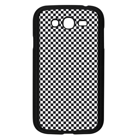 Sports Racing Chess Squares Black White Samsung Galaxy Grand DUOS I9082 Case (Black)