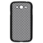 Sports Racing Chess Squares Black White Samsung Galaxy Grand DUOS I9082 Case (Black) Front