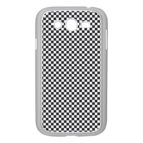 Sports Racing Chess Squares Black White Samsung Galaxy Grand DUOS I9082 Case (White)