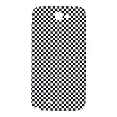 Sports Racing Chess Squares Black White Samsung Note 2 N7100 Hardshell Back Case