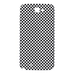 Sports Racing Chess Squares Black White Samsung Note 2 N7100 Hardshell Back Case Front