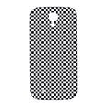 Sports Racing Chess Squares Black White Samsung Galaxy S4 I9500/I9505  Hardshell Back Case Front
