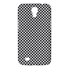 Sports Racing Chess Squares Black White Samsung Galaxy Mega 6 3  I9200 Hardshell Case