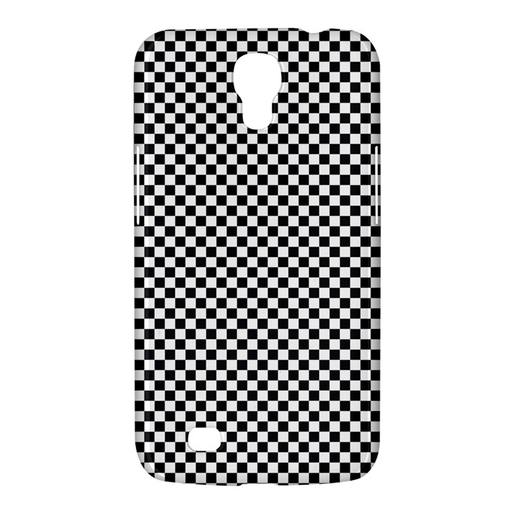 Sports Racing Chess Squares Black White Samsung Galaxy Mega 6.3  I9200 Hardshell Case