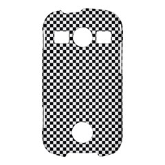 Sports Racing Chess Squares Black White Samsung Galaxy S7710 Xcover 2 Hardshell Case
