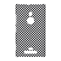 Sports Racing Chess Squares Black White Nokia Lumia 925