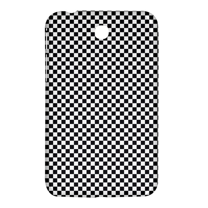 Sports Racing Chess Squares Black White Samsung Galaxy Tab 3 (7 ) P3200 Hardshell Case