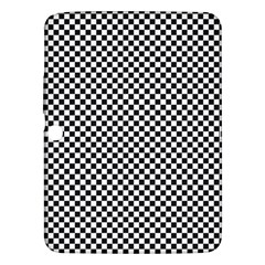 Sports Racing Chess Squares Black White Samsung Galaxy Tab 3 (10.1 ) P5200 Hardshell Case
