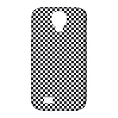 Sports Racing Chess Squares Black White Samsung Galaxy S4 Classic Hardshell Case (PC+Silicone)