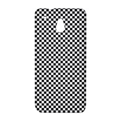 Sports Racing Chess Squares Black White HTC One Mini (601e) M4 Hardshell Case