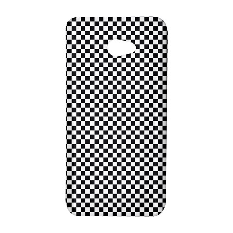 Sports Racing Chess Squares Black White HTC Butterfly S/HTC 9060 Hardshell Case