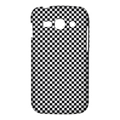 Sports Racing Chess Squares Black White Samsung Galaxy Ace 3 S7272 Hardshell Case