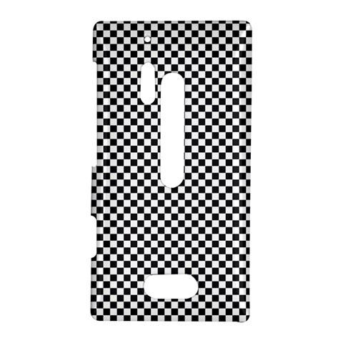 Sports Racing Chess Squares Black White Nokia Lumia 928
