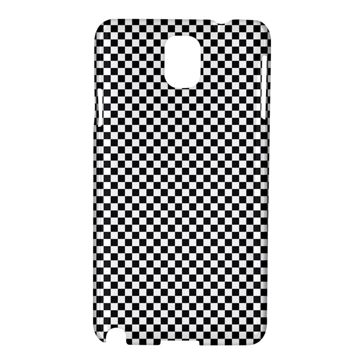 Sports Racing Chess Squares Black White Samsung Galaxy Note 3 N9005 Hardshell Case