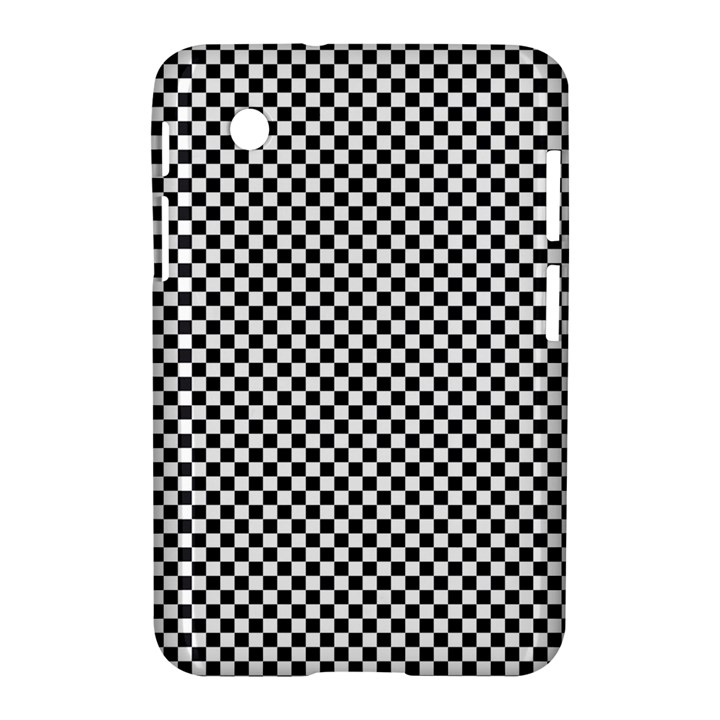 Sports Racing Chess Squares Black White Samsung Galaxy Tab 2 (7 ) P3100 Hardshell Case