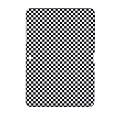 Sports Racing Chess Squares Black White Samsung Galaxy Tab 2 (10.1 ) P5100 Hardshell Case