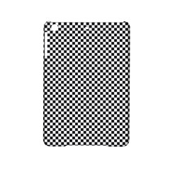 Sports Racing Chess Squares Black White iPad Mini 2 Hardshell Cases