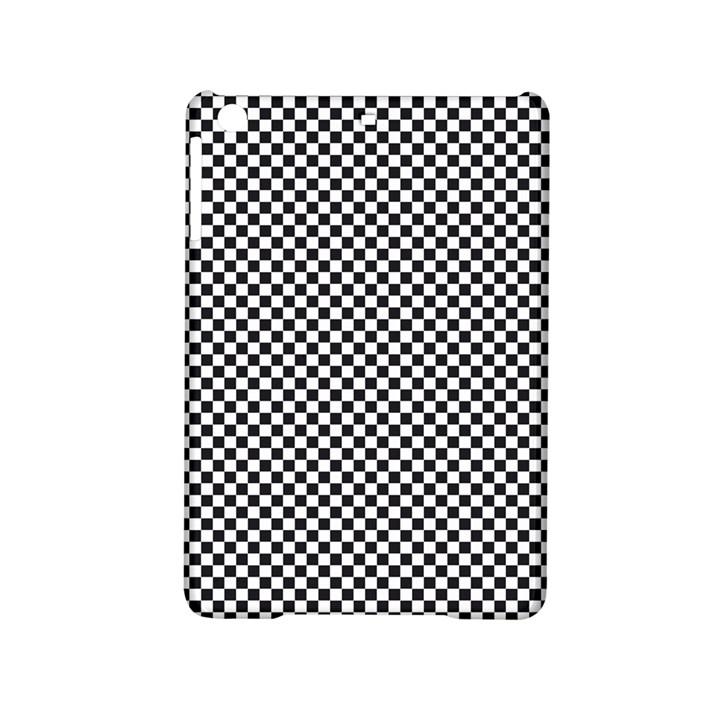 Sports Racing Chess Squares Black White iPad Mini 2 Hardshell Cases