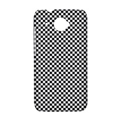 Sports Racing Chess Squares Black White HTC Desire 601 Hardshell Case