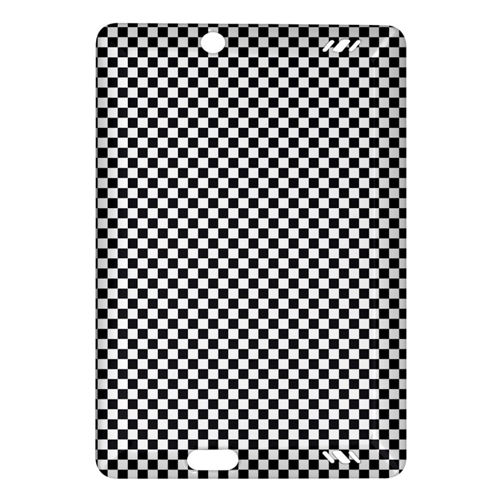 Sports Racing Chess Squares Black White Amazon Kindle Fire HD (2013) Hardshell Case