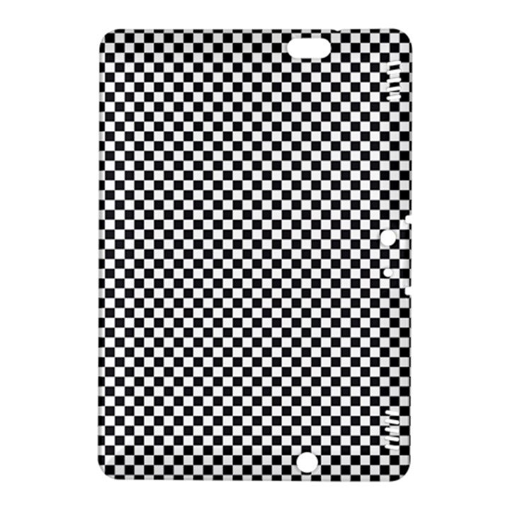 Sports Racing Chess Squares Black White Kindle Fire HDX 8.9  Hardshell Case