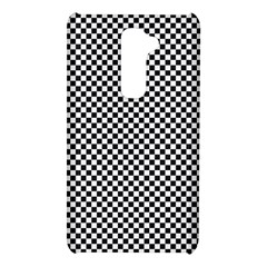 Sports Racing Chess Squares Black White LG G2