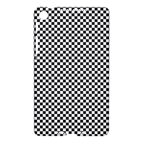Sports Racing Chess Squares Black White Nexus 7 (2013)