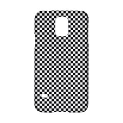 Sports Racing Chess Squares Black White Samsung Galaxy S5 Hardshell Case