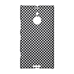 Sports Racing Chess Squares Black White Nokia Lumia 1520