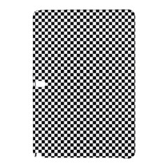 Sports Racing Chess Squares Black White Samsung Galaxy Tab Pro 10 1 Hardshell Case