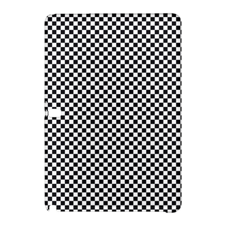 Sports Racing Chess Squares Black White Samsung Galaxy Tab Pro 12.2 Hardshell Case