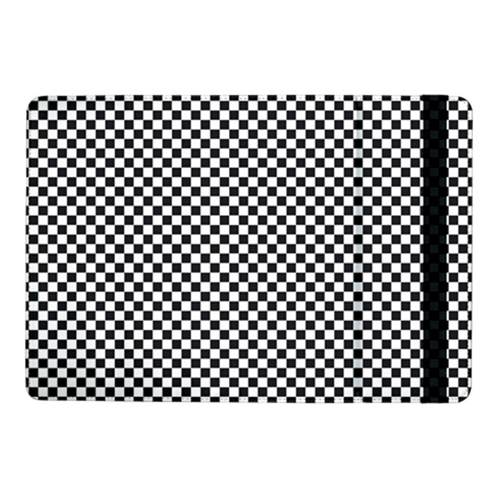 Sports Racing Chess Squares Black White Samsung Galaxy Tab Pro 10.1  Flip Case