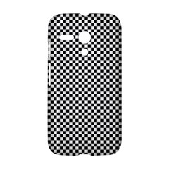 Sports Racing Chess Squares Black White Motorola Moto G