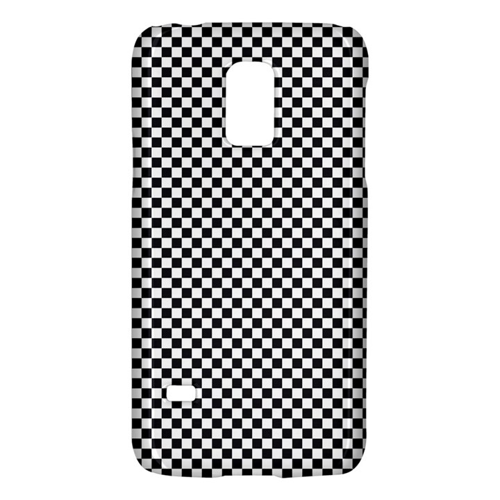 Sports Racing Chess Squares Black White Galaxy S5 Mini