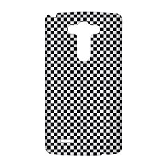 Sports Racing Chess Squares Black White LG G3 Hardshell Case