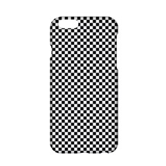 Sports Racing Chess Squares Black White Apple Iphone 6/6s Hardshell Case