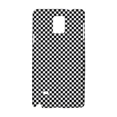 Sports Racing Chess Squares Black White Samsung Galaxy Note 4 Hardshell Case