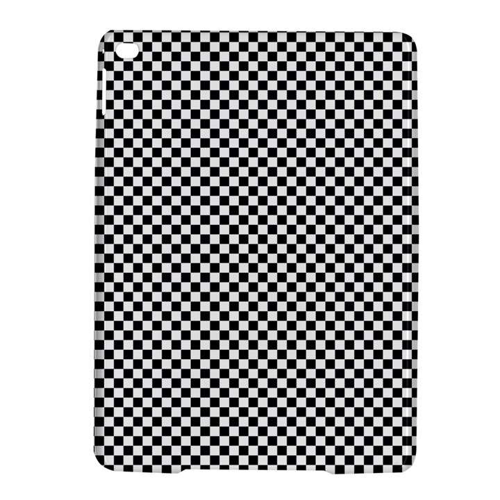 Sports Racing Chess Squares Black White iPad Air 2 Hardshell Cases