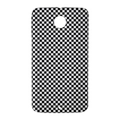 Sports Racing Chess Squares Black White Nexus 6 Case (White)