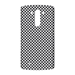 Sports Racing Chess Squares Black White LG G3 Back Case