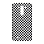Sports Racing Chess Squares Black White LG G3 Back Case Front