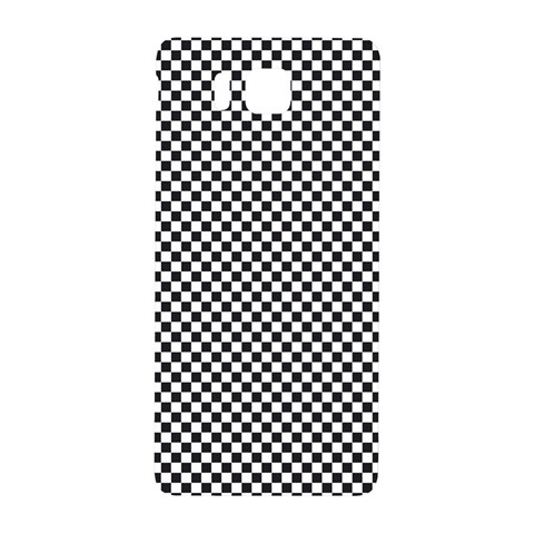 Sports Racing Chess Squares Black White Samsung Galaxy Alpha Hardshell Back Case