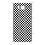 Sports Racing Chess Squares Black White Samsung Galaxy Alpha Hardshell Back Case Front